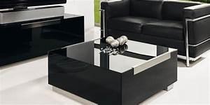 Table Basse Noire Design : munari mi316ne tables basses sur easylounge ~ Teatrodelosmanantiales.com Idées de Décoration