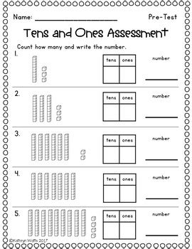 These worksheets are suitable for grade one, two and three students.worksheets types listed below.tens ones blocks, how many tens and ones x 6popsicle stick bundles. Tens And Ones Worksheets Grade 1 - Math Place Value Worksheets 2 Digit numbers - A fun addition ...