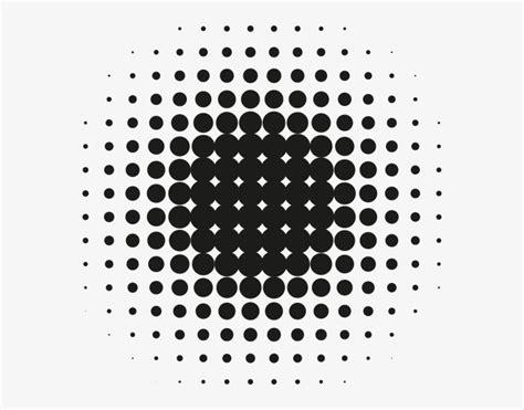 menu dots halftone circle pattern  transparent png