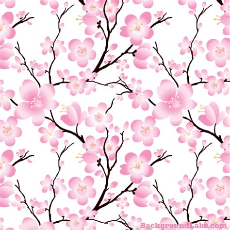 cherry blossom seamless background background labs