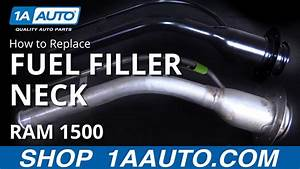 How To Install Replace Fuel Tank Filler Neck 2004