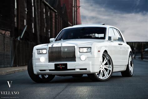 Rolls Royce Phantom White Uk Vellano Wheels Tuning Cars