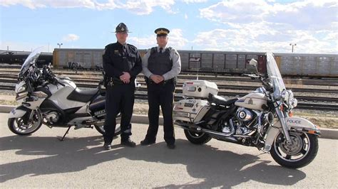 Alberta Sheriffs And Rcmp Talk Motorcycle Safety
