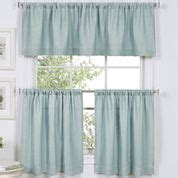 Jcpenney Kitchen Curtains In White by 36 Inch Blue Kitchen Curtains For Window Jcpenney