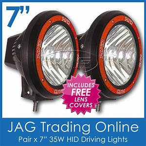 Pair 35w Hid Xenon Off Road Driving Lights 7 Inch
