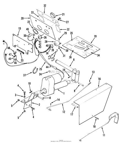 Toro Electric Lift Parts Diagram For