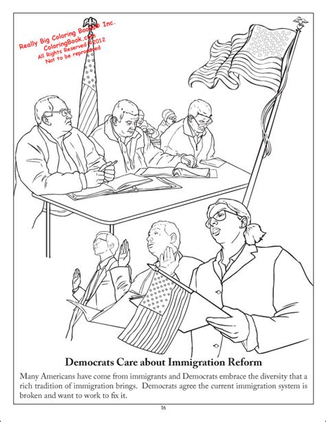 coloring books democratic party coloring  activity book