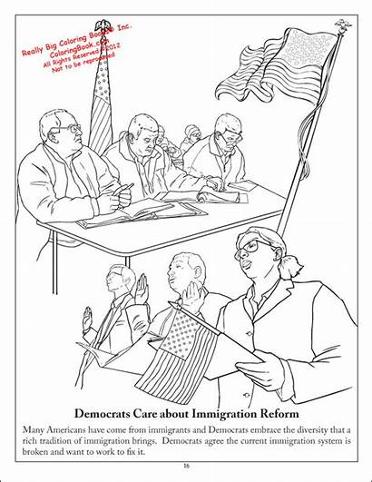 Coloring Books Pages Activity Party Democratic History