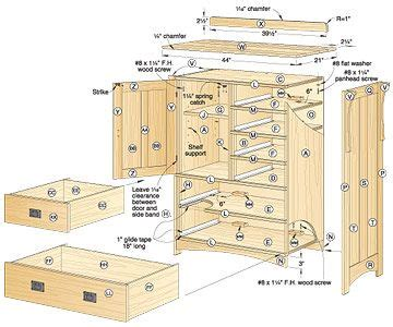 dresser blueprints arts  crafts dresser woodworking