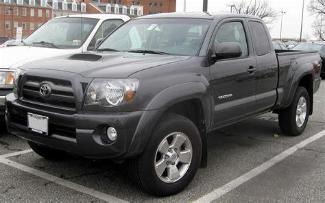 File2009 Toyota Tacoma Ext Cabjpg  Wikimedia Commons