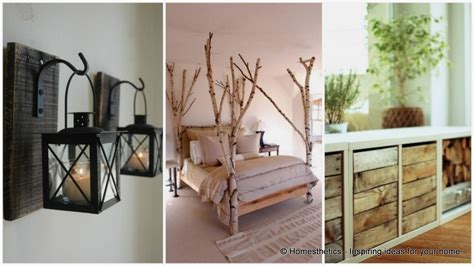 How To Make Rustic Decorations - 28 rustic decorating ideas for your home this fall