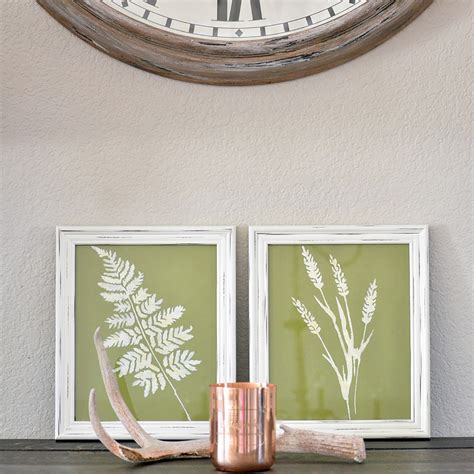 framed leaves wall framed leaf wall set of 2 cg home interiors 3512