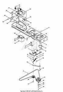 Troy Bilt 14bv809h063  2001  Parts Diagram For Pto Electric