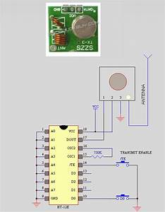Microprocessor - Problem With Rf Circuit Using Ht12d And Ht12e