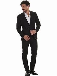 Schwarzer Anzug Blaue Krawatte : 100 wolle schwarz m nner anzug in italien gemacht sarti toscani ~ Frokenaadalensverden.com Haus und Dekorationen