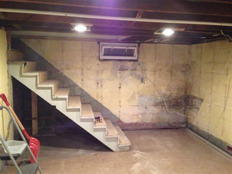 finishing a basement gutted basement how to finish a basement handy father