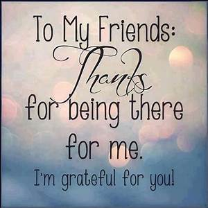 Thanks For Being There For Me Pictures, Photos, and Images ...