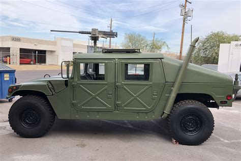 humvee side view 1986 am general m998 humvee 213734