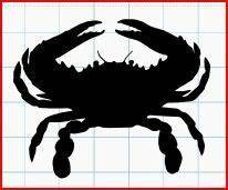 Get crafting with this exclusively designed lovesvg freebie. blue crab FREE SVG | Crab, Blue crab, Fishing svg