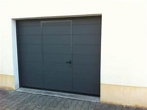 Porte De Garage Avec Portillon Pas Cher : porte de garage basculante avec portillon isol e automobile garage si ge auto ~ Nature-et-papiers.com Idées de Décoration