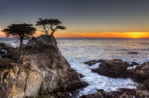 The straight line distance from san francisco, california to pebble beach, california is miles. Sunset off the 17-mile Drive in Pebble Beach, California ...