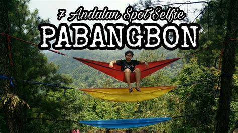 spot andalan wisata pesona pabangbon leuwiliang bogor