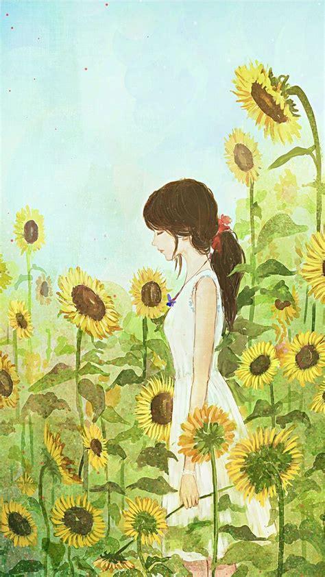 sunflower drawing ideas  pinterest sunflower
