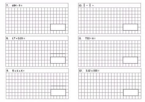 Year 6 Sats Style Comprehension Questions  Ks2 Year 6 Sats Style Arithmetic Test A Teaching