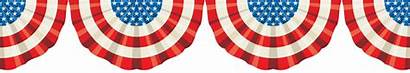 Bunting Clipart Banner Flag Patriotic Clip American