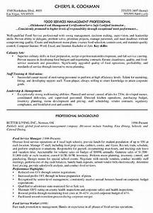 food service manager resume printable planner template With executive resume help