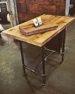 jillyswood adjustable condo harvest table or kitchen With counter height harvest table