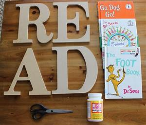 simply extraordinary diy letter decor here to enhance the With read wooden letters