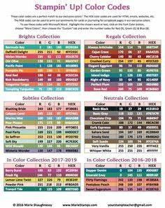 Rgb Farbtabelle Pdf : stampin 39 up rgb farben farben pinterest farben ~ Buech-reservation.com Haus und Dekorationen