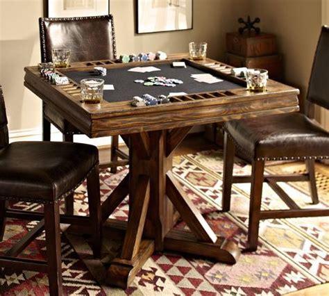 card table pottery barn basement ideas