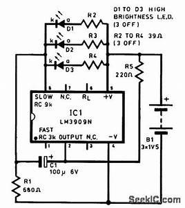 index 686 circuit diagram seekiccom With light turning bike using ic lm3909