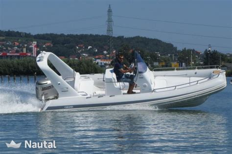Rib Boats Germany by Rib Rent Grand Boats Silverline 650 In Ancora