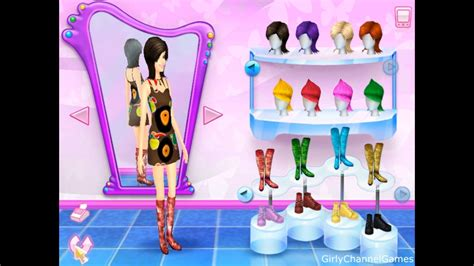 Barbie Fashion Show - An Eye for Style game PC Episode 8 by Girly Channel Games - YouTube