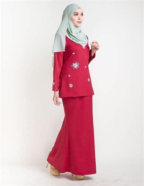 baju kurung moden pendek adelia