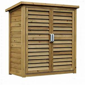 Large, Portable, Wooden, Outdoor, Garden, Lawn, Cabinet, Shed, Shelf, Cupboard, Storage