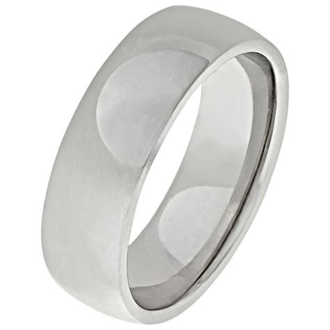 buy sterling silver heavyweight wedding band mm