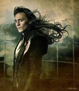 Loki long hair! | Tom Hiddleston/Loki | Pinterest | Tom ...
