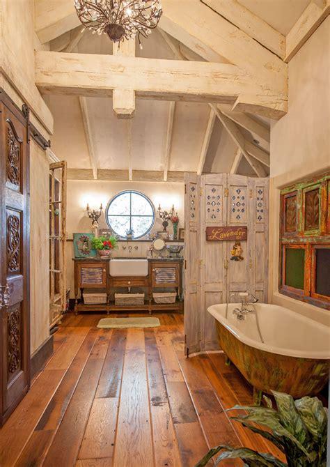 maison rustique  linterieur en bois  ambiance bien