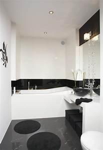 Badezimmer Fliesen Grau Weiß : kleine badezimmer 33 ideen und tipps zur farbgestaltung ~ Watch28wear.com Haus und Dekorationen