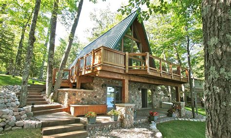 A Frame Style House Plans by Beautiful A Frame Chalet On Lake Minocqua Chain Vrbo