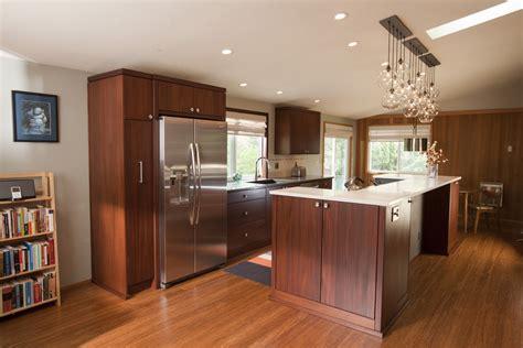 two level kitchen island mid century modern kitchen cabinets kitchen midcentury