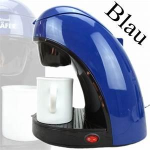 2 Tassen Kaffeemaschine : kaffeemaschine blau m bel design idee f r sie ~ Whattoseeinmadrid.com Haus und Dekorationen