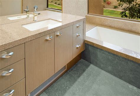 Guide To Choosing Bathroom Countertops And Vanity Tops