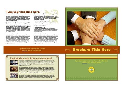 Brochures Templates Free 31 Free Brochure Templates Word Pdf Template Lab