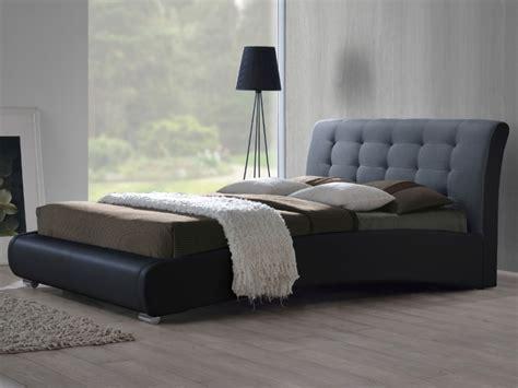 soldes fauteuil bureau lit enrico 160x200cm gris anthracite option cadre à lattes