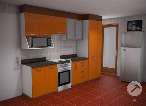 mueble cocina alto  bajo  estructura interior en
